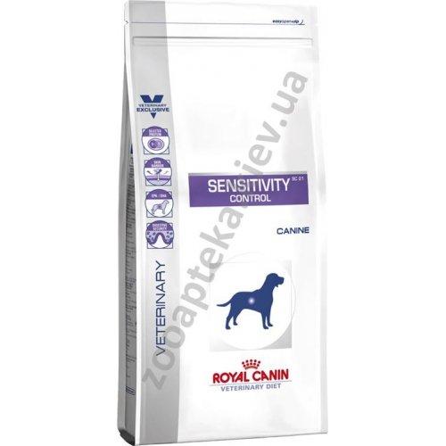 Royal Canin Control Dog Sensitivity - лечебный корм при аллергиях Роял Канин
