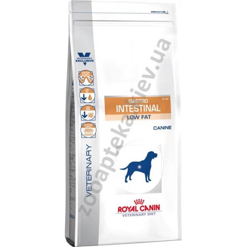 Royal Canin Gastro Intestinal Low Fat Dog - лечебный корм Роял Канин при панкреатите