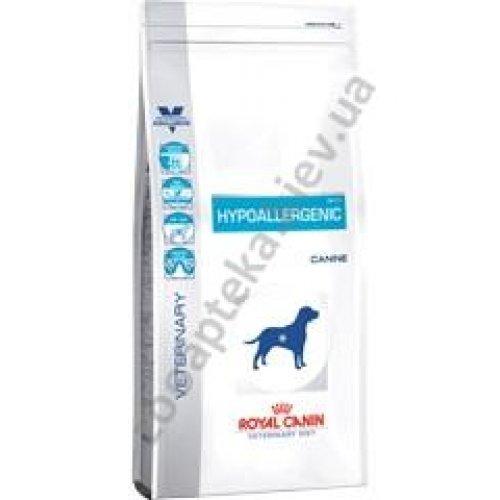 Royal Canin Hypoallergenic Dog - гипоаллергенный корм Роял Канин при пищевых аллергиях у собак