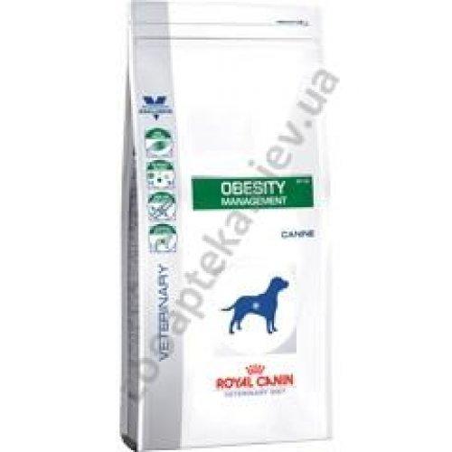 Royal Canin Obesity Dog - корм Роял Канин для собак при ожирении, стадия 1
