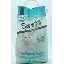 Sanicat Clumping Value - комкующийся наполнитель Саникет для кошачьего туалета