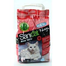 Sanicat Professional Aloe Vera 7 day - впитывающий наполнитель Саникет Алое Вера для кошачьего туале