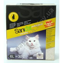 Sanicat Clumping Gold - комкующийся наполнитель Саникет для кошачьего туалета на основе сепиолита