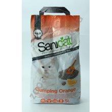 Sanicat Professional Clumping Orange - комкующийся наполнитель Саникет с ароматом апельсина