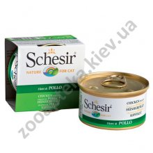 Schesir Chicken - консервы Шезир с курицей для кошек, банка