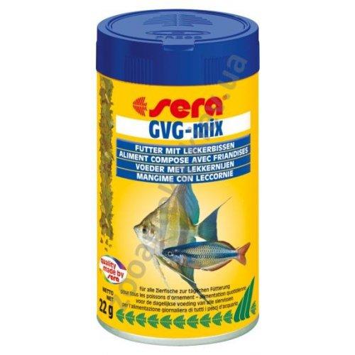 Sera GVG-Mix - дополнительный корм Сера для пресноводных рыб