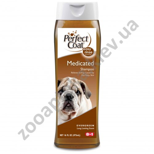 8 in 1 Medicated Shampoo - шампунь дегтярный 8 в 1 для собак