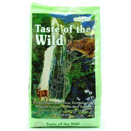 Taste of the Wild Rocky Mountains - корм Вкус Дикой Природы с олениной и лососем