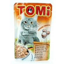 TOMi - консервы ТОМи с гусем и печенью для кошек