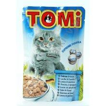 TOMi - консервы ТОМи с лососем и форелью для кошек