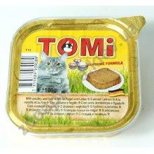 TOMi - паштет ТОМи с птицей и печенью для кошек