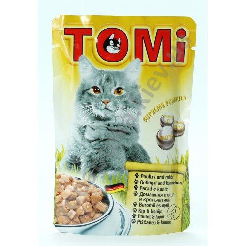 TOMi - консервы ТОМи с птицей и кроликом для кошек