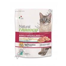 Trainer Natural Adult Sterilized White Meat - корм Трейнер для взрослых стерилизованных кошек