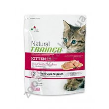 Trainer Natural Kitten - корм Трейнер для котят, с курицей