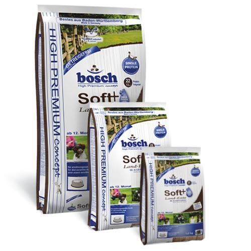 Bosch HPC Soft Land-Ente and Kartoffel - полувлажный корм Бош Софт с уткой и картофелем для собак