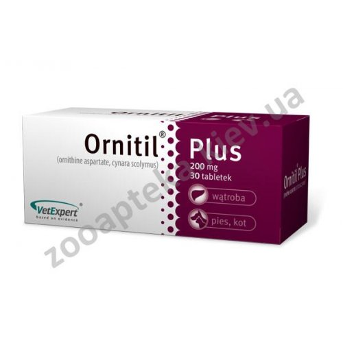 Vet Expert Ornitil Plus - гепатопротектор Вет Эксперт Орнитил Плюс