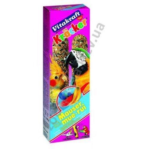 Vitakraft Kracker - витаминизированный крекер Витакрафт для средних и крупных попугаев