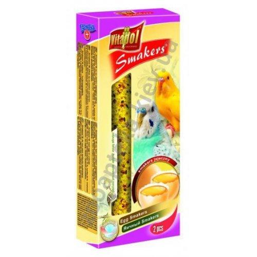 Vitapol Egg Smakers - лакомство Витапол, с яйцами для волнистых попугаев, в колбе