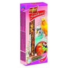 Vitapol Fruit Smakers - корм Витапол с фруктами для волнистых попугаев в колбе