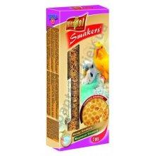 Vitapol Honey Smakers - корм Витапол с медом для волнистых попугаев в колбе