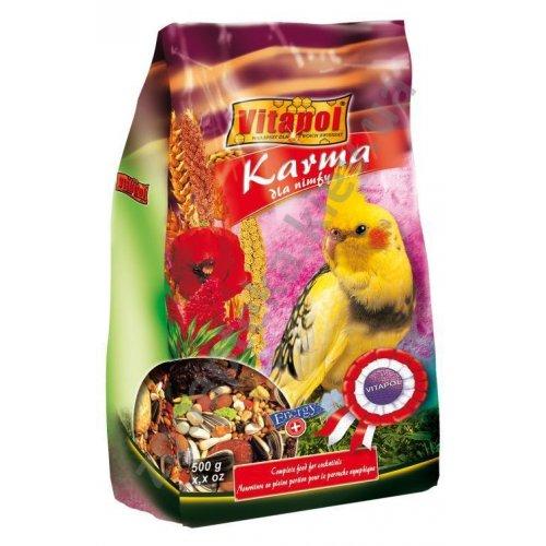 Vitapol Karma - корм Витапол для средних попугаев