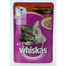 Whiskas - корм Вискас с индейкой в соусе