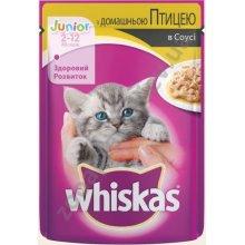 Whiskas - корм Вискас с домашней птицей в соусе для котят