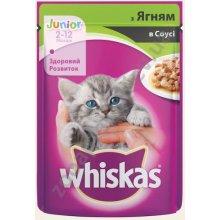 Whiskas - корм Вискас с ягненком в соусе для котят