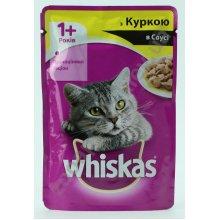 Whiskas - корм Вискас курица в соусе