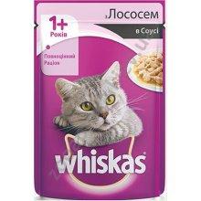Whiskas - корм Вискас с лососем в соусе
