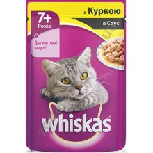 Whiskas - корм Вискас с курицей для кошек возрастом от 7 лет