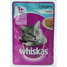 Whiskas - корм Вискас тунец в желе