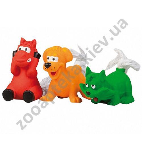 Karlie-Flamingo Toys - зверушки с хвостиком Карли-Фламинго для собак
