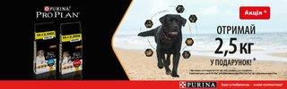 PRO PLAN для собак акция
