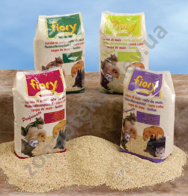 Fiory кукурузный наполнитель фиори для