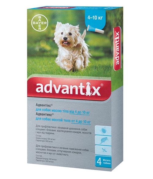 адвантикс для собак инструкция цена в украине
