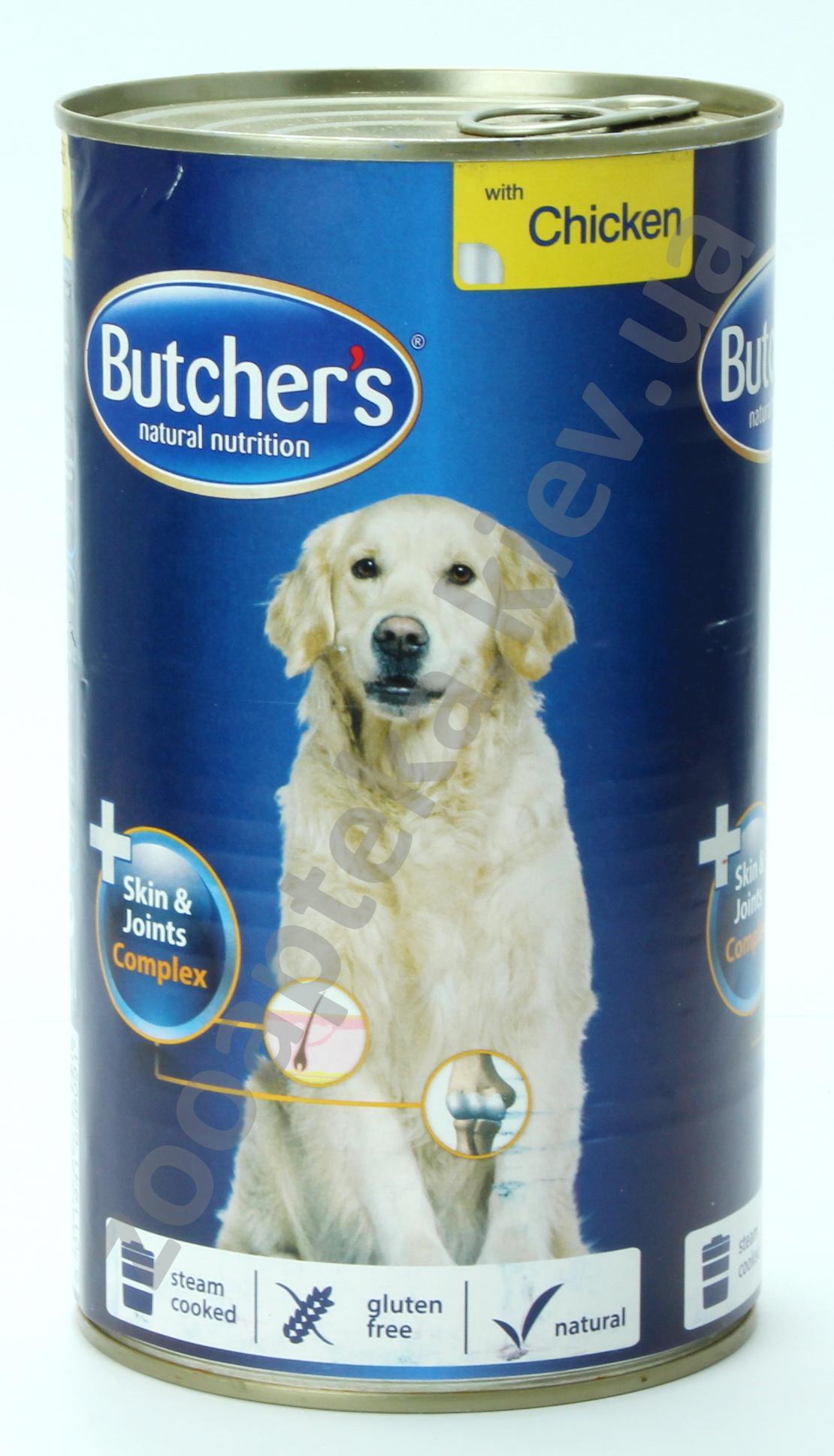 Мясные консервы для собак Батчерс