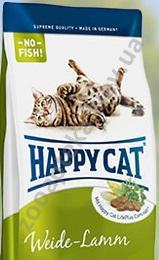 Корм хеппи кет с ягненком для кошек