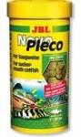 JBL Novo Pleco - корм Джей Би Эл в виде чипсов с водорослями для растительноядных аквариумных донных рыб