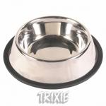 Trixie - миска Трикси (металл) на резине для собак