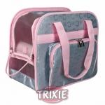 Trixie Alisha - сумка Трикси Алиша нейлоновая серебристо-розовая (36422)