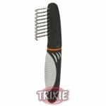Trixie De-matting Comb - колтунорез с изогнутыми зубцами для мелких пород собак Трикси