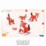 Trixie - коврик под миску Трикси для собак (24543)