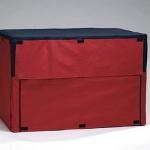 Pet Pro - накидка на клетку Пет Про, нейлоновая, сине-красная (071592)