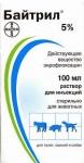 Bayer Baytril 5% - противомикробный препарат Байер Байтрил 5% для лошадей