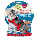 Trixie - шлейка Трикси для котят, нейлоновая