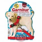 Trixie - Трикси Шлея с поводком для щенка нейлоновая 25-40см/13мм