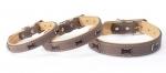 Camon Timber - ошейник Камон с украшением, коричневый (DC027)