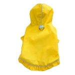 Monkey Daze Raincoat - дождевик Манки Дазе желтый для собак (71029_24)