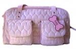 Monkey Daze Pink Heart - сумка Манки Дазе Розовое Сердце для собак